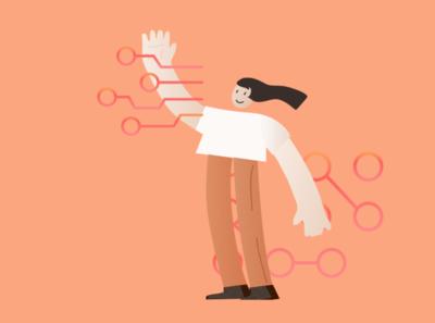 Bits of Good Web rebrand illustrations