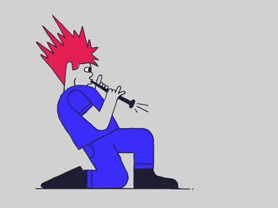 Clarinet Boy Z