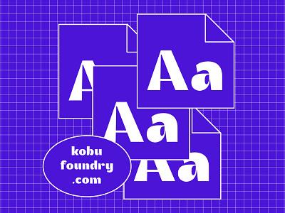 Akuto Display font awesome type typography design webfont typeface typedesign kobufoundry font akutodisplay typography