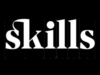 Skills glyphsapp serifs type design skills comingsoon serif typeface serif serif font typedesign typeface kobufoundry typography