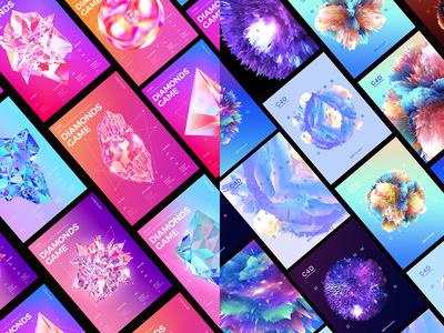 海报总结2018 365dailyproject 365 poster animation practice c4d