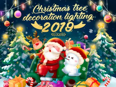 BIGO LIVE&Christmas illustration web dribbble