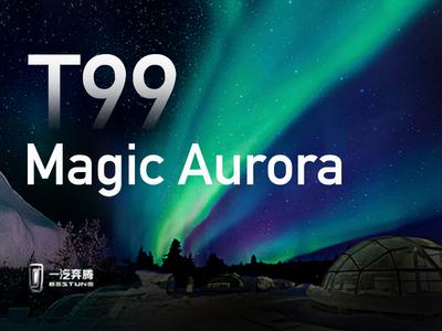 Theme design of magic Aurora FAW Pentium T99 ui design