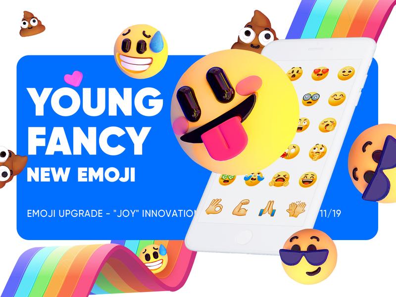 Emoji Post Practice dribbble c4d