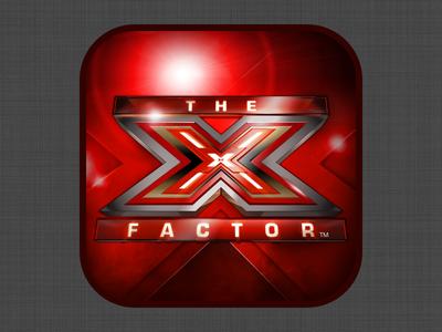 The X Factor iOS App Icon
