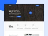 Astron - Landing Page