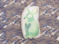 Bunny Zodiac Pillow