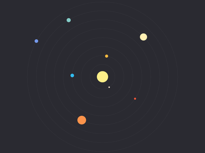 Flat Solar System