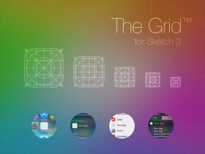 iOS 7 App Icon Grid Template app icon grid template sketch ios 7 sketch 3