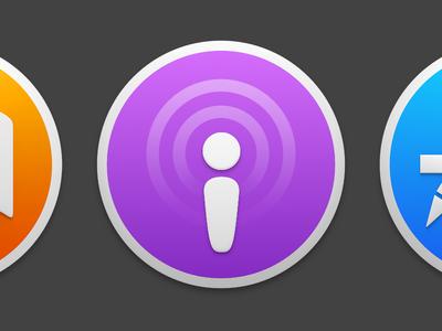 Yosemite Podcasts Icon