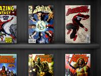 Comic Book Shelf
