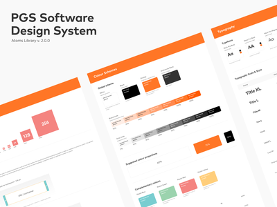 Design System for pgs-soft.com #1 design system ui ui design uiux uidesigner components atomic design white ui style guide style guides uidesign it software brand