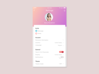 Daily ui #007 Settings