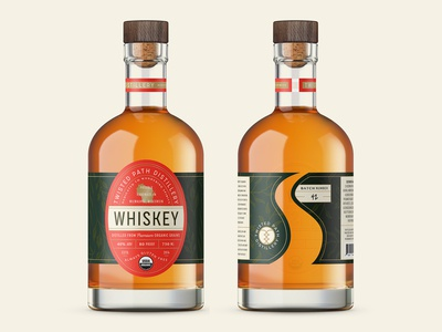 Twisted Path Distillery Label Design