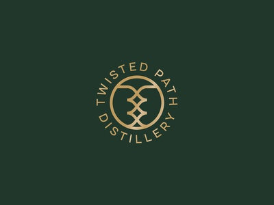 Twisted Path Distillery Logo Concept