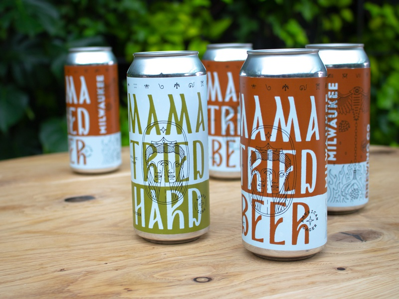 Mama Tried Beer / Mama Tried Hard milwaukee motorcycle show lager hard seltzer mama tried packaging beer