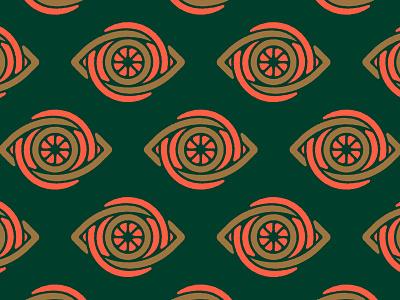 Eye drew another eye iris brand identity logomark logo eyeball eye