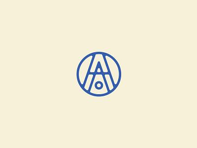 House Of Asher brand identitty branding logomark monogram logo