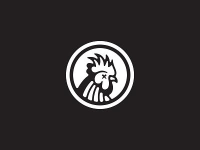 Cock Logo logomark icon animal bird chicken rooster cock