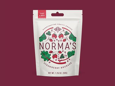 Normas Handcrafted Snacks strawberryluna pouch pack snacks gummies strawberry