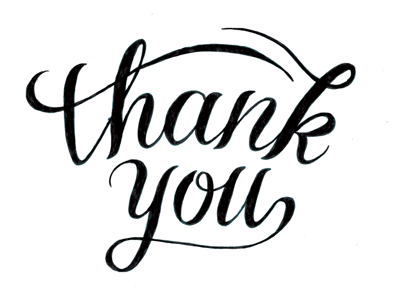 thank you drawing by zac jacobson dribbble
