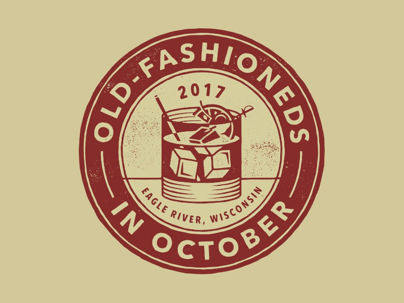 Old-Fashioneds In October logo wisconsin eagle river october old-fashioneds logo