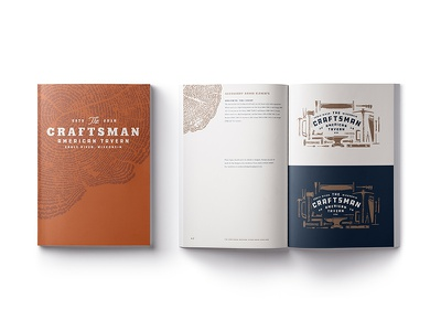 The Craftsman Brand Guidelines brand guidelines tavern american craftsman