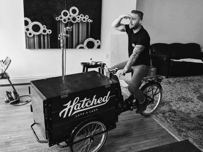 Hatched Pie Cart