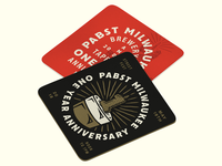 Pabst Coasters
