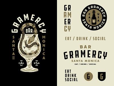 Bar Gramercy santa monica california gram gramercy snake restaurant bar