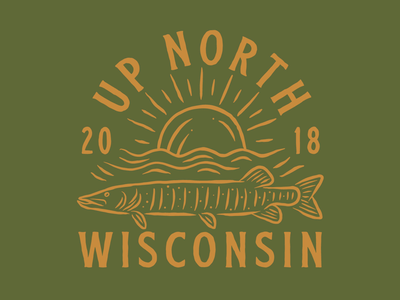 Up North Wisconsin north fish musky up north wisconsin