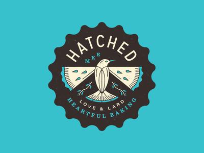 Hatched Badge