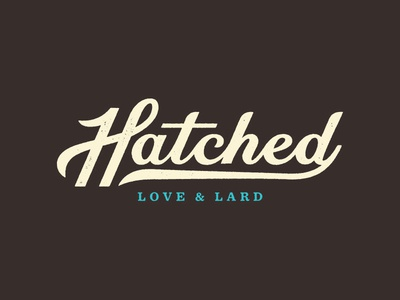 Hatched Final Logotype