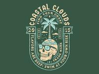 Coastal Clouds Badge 1