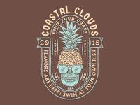 Coastal Clouds Badge 2