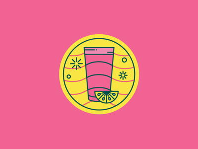 Pink Lemonade icon drink lemonade pink