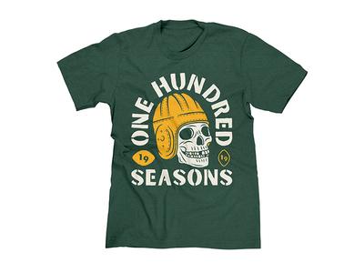 Green Bay Packers 100 Seasons T-shirt