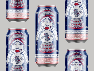 PBR Can Design beer can beer packaging can design pabst blue ribbon pabst pbr