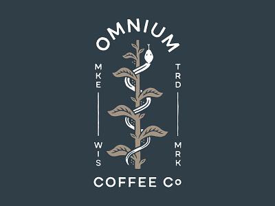 Omnium Coffee Co. snake coffee ouroboros