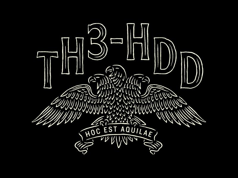 Three-Headed Shirt eagle logo illustration bird three eagle