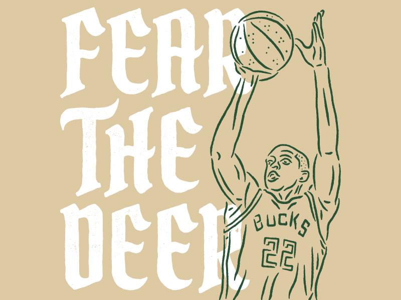 Bucks in 5 fear the deer milwaukee bucks milwaukee bucks khris middleton