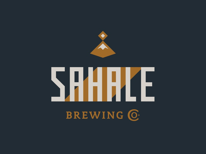 Sahale Branding sahale brew brewery beer packaging beer branding