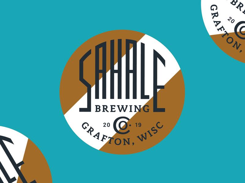 Sahale Branding brewery beer design beer packaging beer badge branding