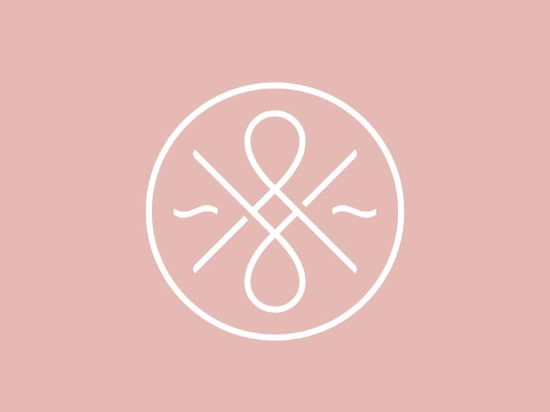 Salon & Company design branding mark logo icon ampersand shears scissors salon