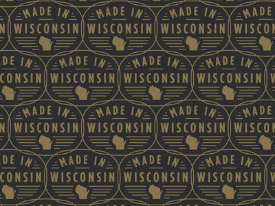 Made in Wisconsin wisco badge design badge made wisconsin cbd