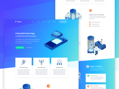 Flanka - Website Design