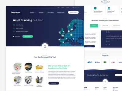 Sensolus - Asset tracking solution