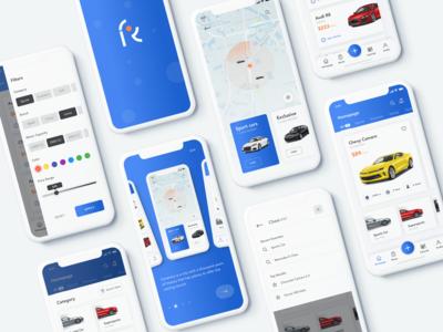 Car Rental Service - App