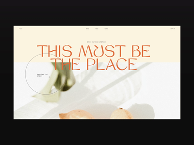 YONI — This Must Be the Place magazine website web video ux design ux ui design ui animation ui typography promo motion landing page interface interaction figma design animation after effects animation after effects