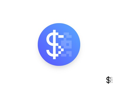 Daily UI 005 - App Icon scan gradient qr code digital currency cash data quincy icon application user interface dailyui